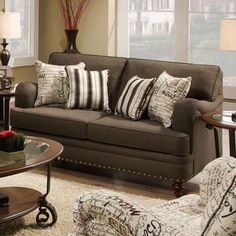 Like the arms on this love seat