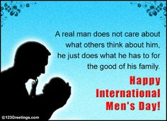 8 Best Mens Day Wishes Images International Mens Day Wish