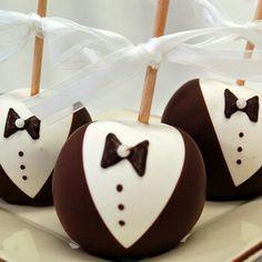 Tuxedo Candy Apple