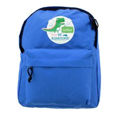 Personalised Backpack -  Be Roarsome Dinosaur