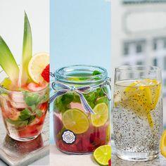 DeinKörper braucht viel Flüssigkeit, um optimalzu funktionieren und schädlicheGiftstoffe abzutransportieren. Pures Wasser eignet sich dafür am besten.Und auch wenn man sich täglich vornimmt, drei bis vier Liter davon zu trinken, oder zumindest anderthalb, hat Wasser nun …