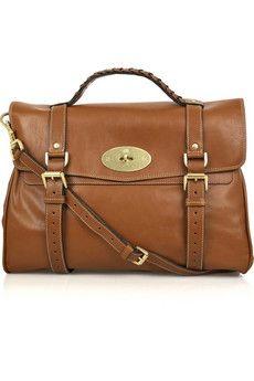 Oversized Alexa Leather Bag - Mulberry. Versatile.