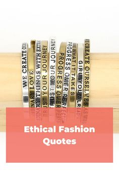 There are so many ways to shop ethically and so many reasons why, let's explore all the ways ethical fashion is important. Ethical Fashion Brands, Ethical Clothing, Vegan Fashion, Slow Fashion, Sustainable Clothing, Sustainable Fashion, Ethical Shopping, Vegan Shoes, Fashion Quotes