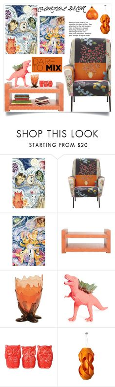 """""""Colorful!"""" by samra-bv ❤ liked on Polyvore featuring Corsi Design Factory, The Plaid Pigeon, LZF, WAC Lighting, art, homedecor, homedesign and homeart"""