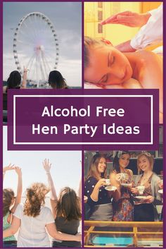Alcohol FREE hen party ideas, perfect for a pregnant or health conscious bride. Be inspired by these unique girly days and nights out ideas that'll leave you spoilt for choice...