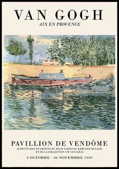Aesthetic Backgrounds, Aesthetic Wallpapers, Aesthetic Art, Aesthetic Pictures, Provence, Poster Wall, Poster Prints, Arte Van Gogh, Art Exhibition Posters