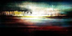 on the horizon. Digitales Kunstwerk - eines von nur 10 nummerierten Originalen. Digital Artwork - one out of ten numbered Originals. von flagpointART auf Etsy