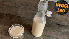 Vegane Kondensmilch - Rezept von Veggi Leo Glass Of Milk, Leo, Carnation Milk Recipes, Soy Milk, Vegan Baking, Diy, Lion