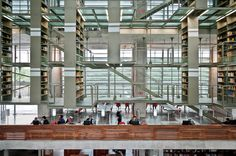 Biblioteca Jose Vasconcelos / TAX - Alberto Kalach / Mexico, DF    ©LGM Studio - Luis Gallardo
