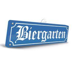 """3D-Wanddeko """"Biergarten"""" 46 cm"""