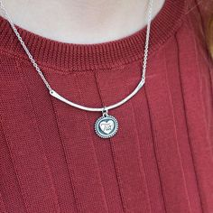 Love Bandit American Made Sterling Silver Charm Necklace