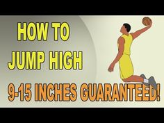 How To Increase Vertical Jump - 9 to 15 Inches! - YouTube