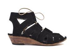 Suede Gladiator Sandal | Moorea Seal