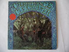 Creedence Clearwater Revival self titled debut album lp by theposterposter on Etsy