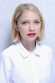 How to create Tavi Gevinson's textured bob! #hair #haircuts #blonde bob