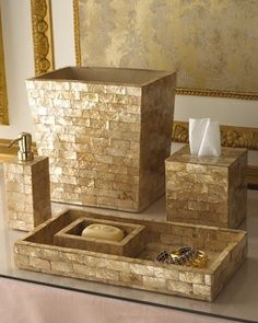 Captivating Gold Crackle Bathroom Accessories Gallery   Best .