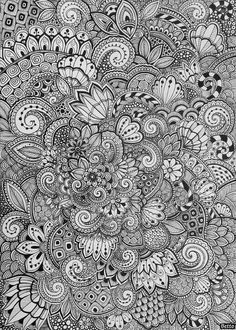 Discover recipes, home ideas, style inspiration and other ideas to try. Doodle Art Drawing, Zentangle Drawings, Mandala Drawing, Zentangle Patterns, Art Drawings, Zentangles, Henna Mandala, Henna Patterns, Mandala Tattoo