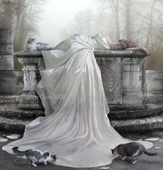 In this post, i have selected dark surreal artwork from digital art. Here are more than 30 creative photos of dark surreal art. Advanced Photoshop, Adobe Photoshop, Gothic Wallpaper, Surreal Art, Types Of Art, Photo Manipulation, Dark Art, Art World, Female Art