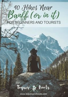 Experience the Rocky Mountains with these 10 hikes near Banff National Park for beginners and tourists. : Experience the Rocky Mountains with these 10 hikes near Banff National Park for beginners and tourists. Hiking Club, Hiking Tips, Hiking Gear, Banff National Park, National Parks, Parcs Canada, Alberta Travel, Canadian Travel, Canadian Rockies