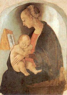 Madonna col Bambino (1498)  Raffaello Sanzio (1483–1520)    Casa Santi, Urbino
