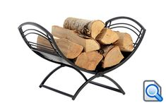 Our Fireplace Classic Log Holder is a beautiful and functional round firewood rack. A perfect addition to the hearth, stores and displays firewood.
