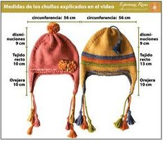 Easy Crochet Hat, Crochet Baby Hat Patterns, Crochet Kids Hats, Knitting For Kids, Baby Knitting, Knitted Hats, Knitting Patterns, Knit Crochet, Crochet Hat For Beginners