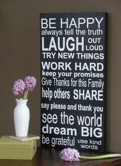 I hope I have taught my children some of these life lessons!