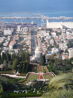 Haifa is the largest city in northern Israel, and the third-largest city in the country, with a population of over 268000. Photography by Birthright Israel participant Brett Rosenstock.
