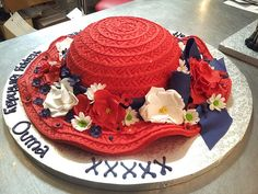 how to make a 3d cowboy hat cake