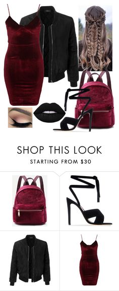 """Back To School (,,)"" by breemcguire on Polyvore featuring Gianvito Rossi, Shibuya, LE3NO, Glamorous and highschool"
