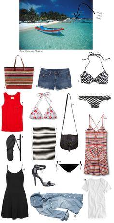 15 Travel Staples & 15 Ways To Wear Them | Damsel in Dior