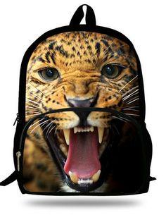 Unisex Animal Bag Shark Backpack Animal Prints Cool Boys Backpacks For School Casual Children School Bags Mochila Infantil Cotton Polyester Animal Backpacks, Cool Backpacks, College Backpacks, School Bags For Kids, Kids Bags, Men's Bags, Kindergarten Books, Animal Bag, Toddler Backpack