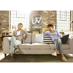 UV try ballad for the 1st time with digital single Because of You feat. Brown Eyed Souls Sung Hoon