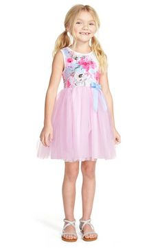 Pippa & Julie Sleeveless Tulle Dress (Toddler Girls, Little Girls & Big Girls) available at #Nordstrom