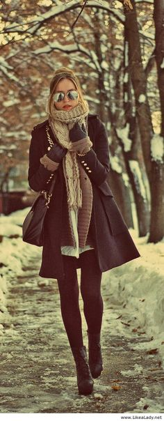 Classic winter look