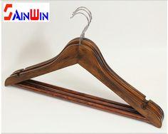 Sainwin 5pcs/lot  44cm Men Hangers for Clothes Solid Wood Hanger Slip-resistant Cothes Pegs Wooden Coat Suit Clothes Racks - ICON2 Luxury Designer Fixures  Sainwin #5pcs/lot # #44cm #Men #Hangers #for #Clothes #Solid #Wood #Hanger #Slip-resistant #Cothes #Pegs #Wooden #Coat #Suit #Clothes #Racks