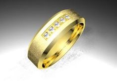Sortija de oro amarillo de 18K modelo Letizia - Sortijas con brillantes - Clemente Navarro by LK#bodas #alianzas #anillos #sortijas #diamantes #brillantes #novia | cnavarro.com