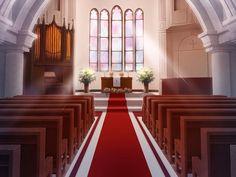 Anime Landscape: Church