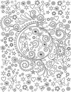 Amazing Swirls Coloring Book For Adults Adult Colouring