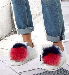 Save, Spend, Splurge: Pompom Sneakers