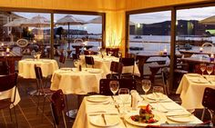 Cruise Café is known for its fresh seafood and modern styled cuisine, a relaxed atmosphere with exceptional views of the Knysna Lagoon. Eat Me Drink Me, Knysna, Fresh Seafood, Allrecipes, Table Settings, Table Decorations, Modern, Restaurants, Wine