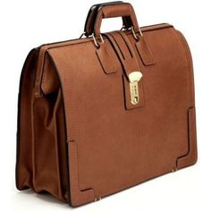 A classic Lawyer's Brief in Belting Leather. www.suitcase.com/briefcases-laptop-cases/briefcases/korchmar-brief-bag-full-grain-belting-leather.html