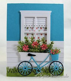 "Window card-I love the ""shade and wallpaper""  Will use"
