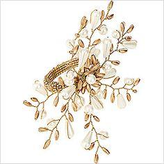 Kim Seybert Pearl Burst Napkin Ring (Set of 4)