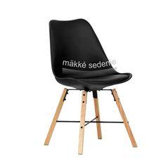 Dizajnová stolička v dvoch farebných variantoch .
