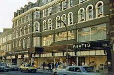 Pratts department store, Streatham in 1978