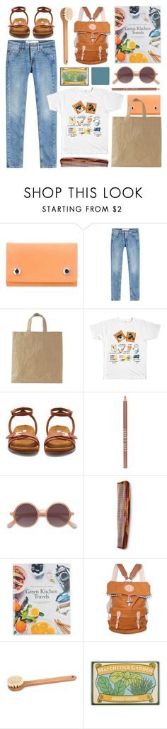 """eat & travel"" by foundlostme ❤ liked on Polyvore featuring Pedro García, Off-White, STELLA McCARTNEY, Lord & Berry, Ace, Baxter of California, Stighlorgan, Iris Hantverk, Noted* and RMK"