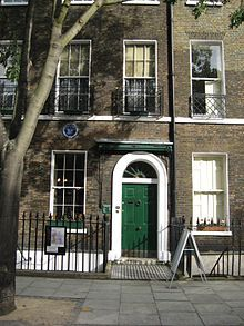 Charles Dickens Museum - Wikipedia, the free encyclopedia, His only surviving London House