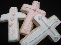 Christening, Communion - Cross Cookie .