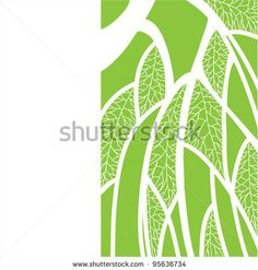 vector abstract background with the image of the birch / abstract background - stock vector